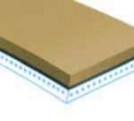 Natural-Rubber-Tan---White-40-Duro-covering