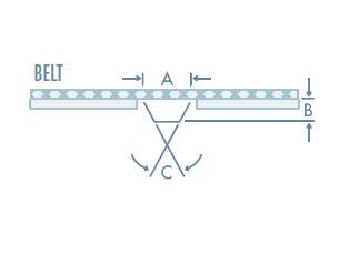 Self-Tracking Belts