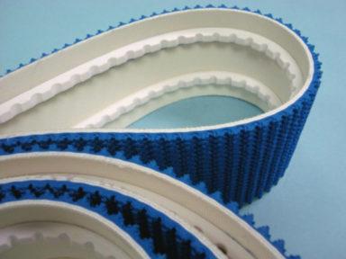 Conveyor Belt Blue Ruff Top & V-guides