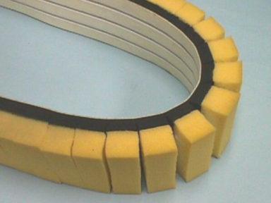 Conveyor Belt Dual Sponge Cover
