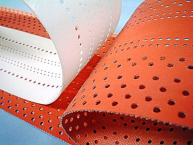 Conveyor Belts Silicone with Holes