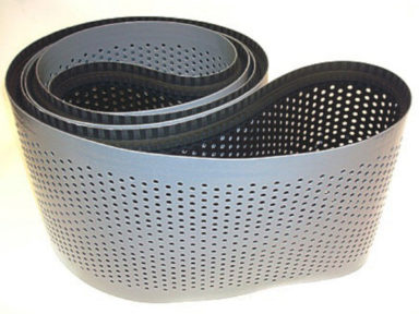 Neoprene Timing Belt with Holes and Silicone Coating
