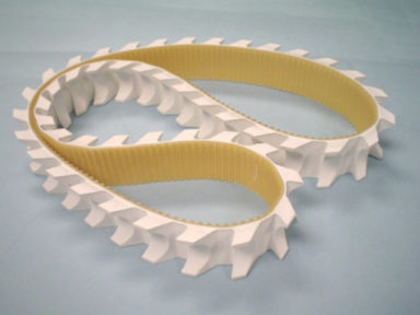 Timing Belt FDA White Rubber Cover Segmented