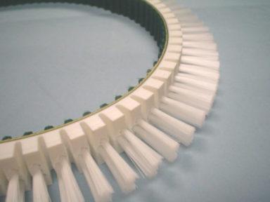 Timing Belt Urethane Segmented & Bristles (3)
