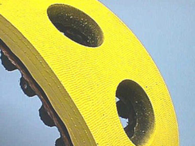 Timing Belt Yellow Rubber with Holes (1)