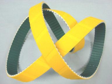 Timing Belt Yellow Sponge Serrated
