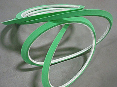 Urethane Timing Belt Self Track with Green Sponge Cover