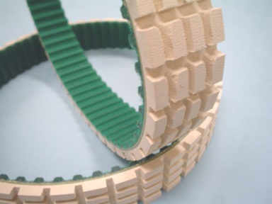 Urethane Timing Belt with Gum Segmented Cover