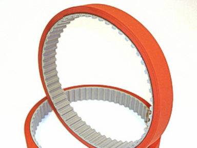 Urethane Timing Belt with Red 45A Natural Rubber