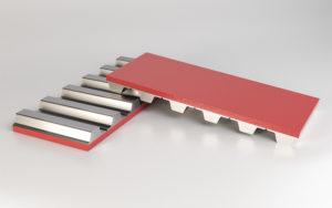 sponge-urethane-red-belt-covering